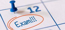 جدول امتحانات الفصل الثاني